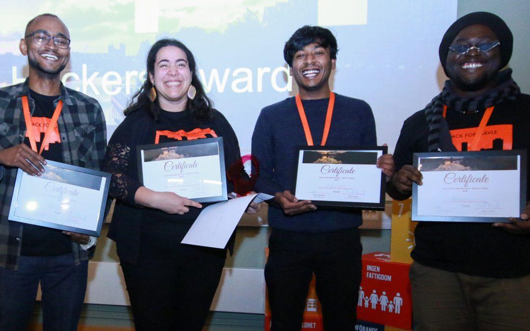 """Winner of """"Jurys honorable mention"""" Team Äldreverket"""