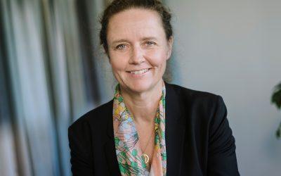 Anna Eriksson, kaptenen för Sveriges digitala utveckling