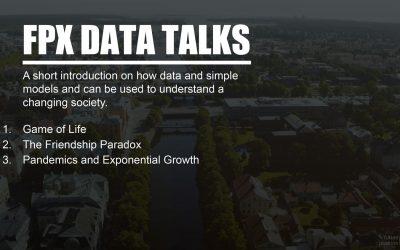 FPX Talk: Hur data och enkla modeller kan beskriva ett samhälle i förändring