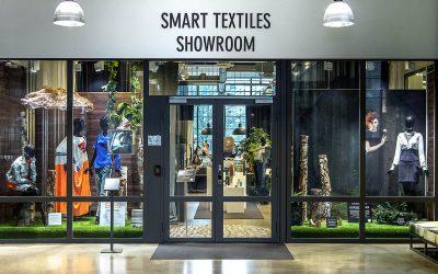 ForskarFredag ger virtuell visning av Smart Textiles Showroom
