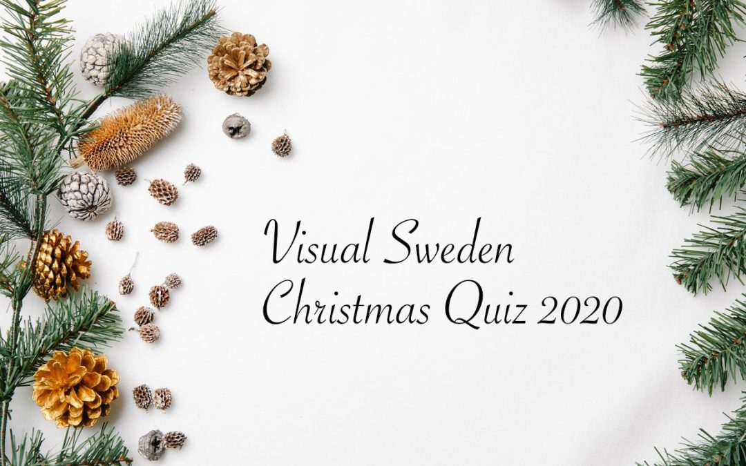 Tävla i Visual Sweden Christmas Quiz 2020