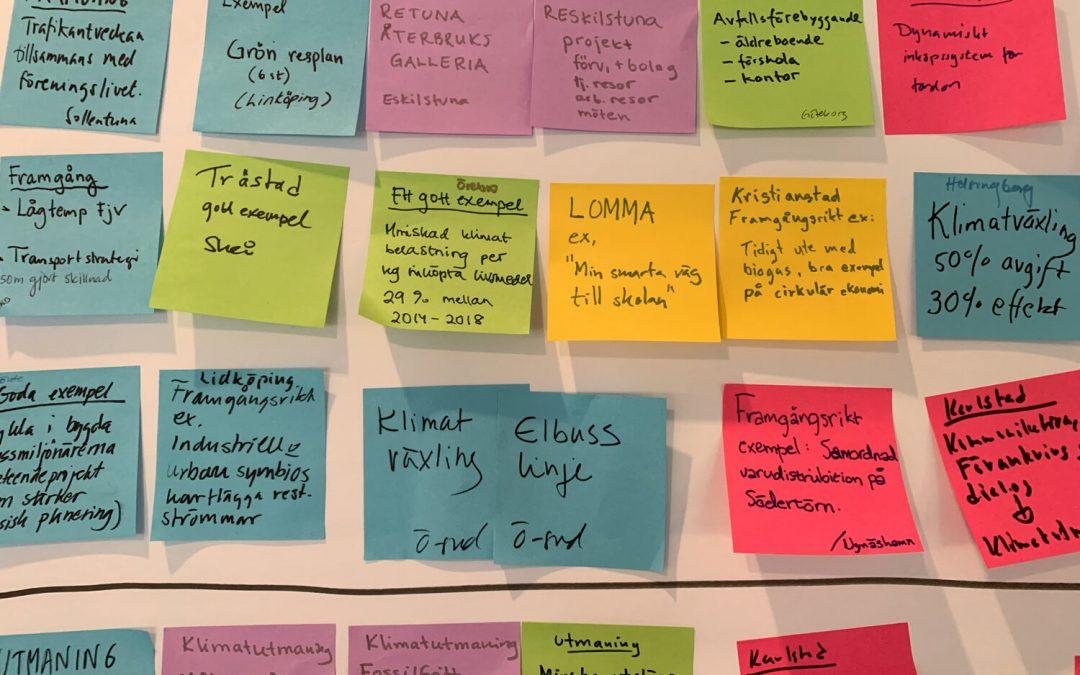 På bloggen: Fyra framgångsfaktorer för klimatarbete ikommuner