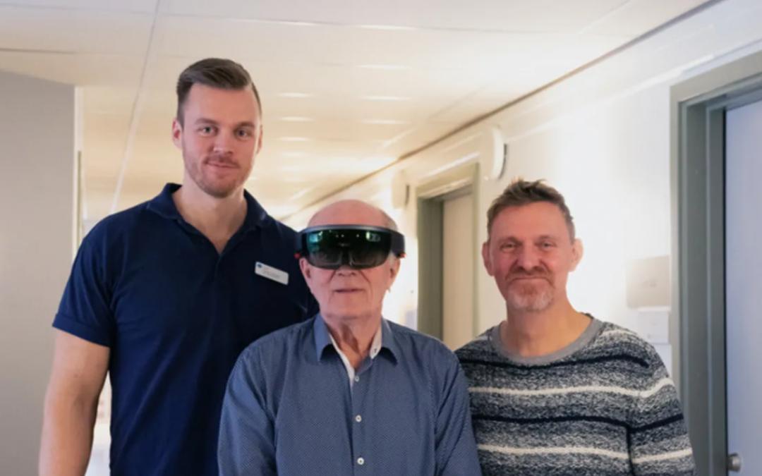 AR-teknik ska hjälpa äldre träna bättre