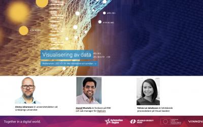 Välbesökt webbinarium om visualisering av data