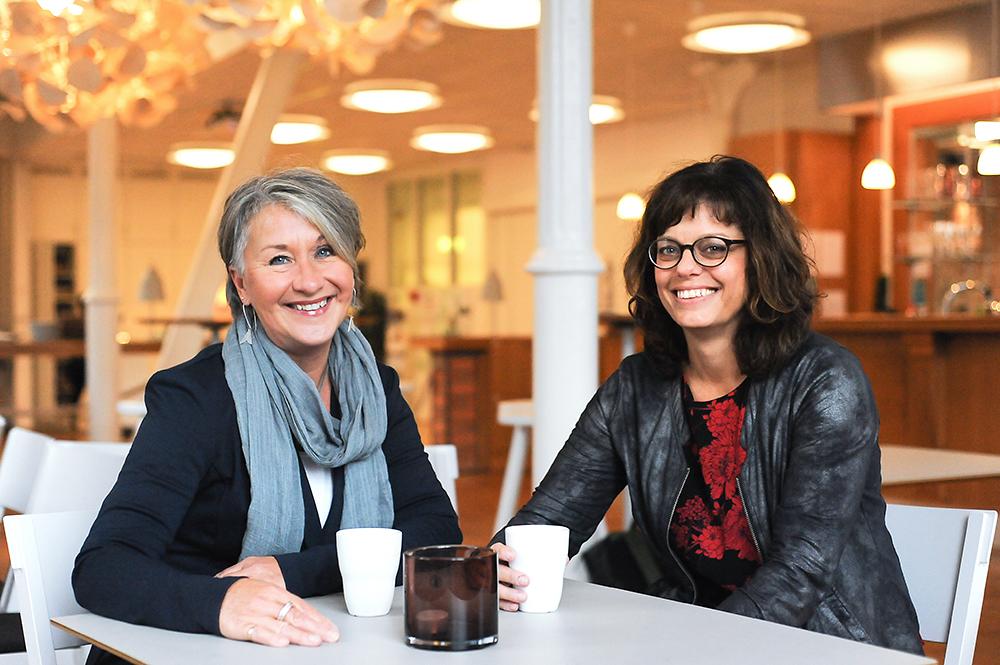 Ewa och Kristina på Crearum: En god idé är en idé som svarar mot ett behov