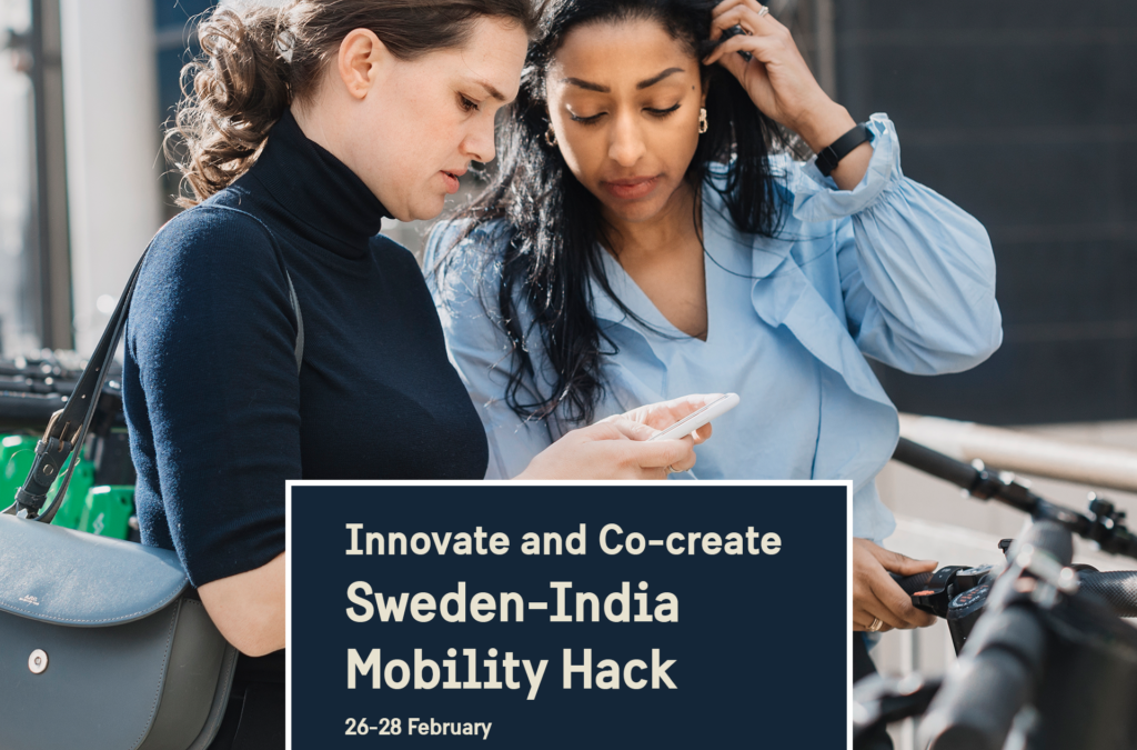 Sweden-India Mobility Hack on February 26