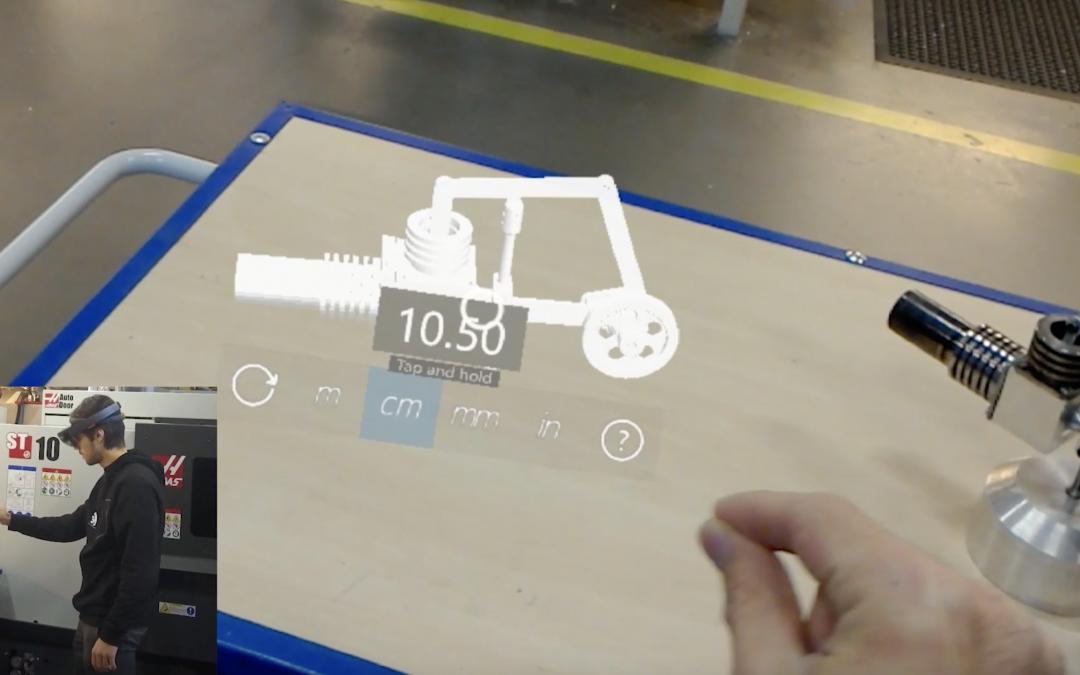 Testa HoloLens2 i visualiseringslabb för industriföretag